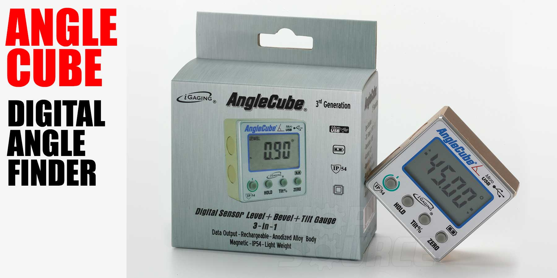AngleCube Digital Angle Finder