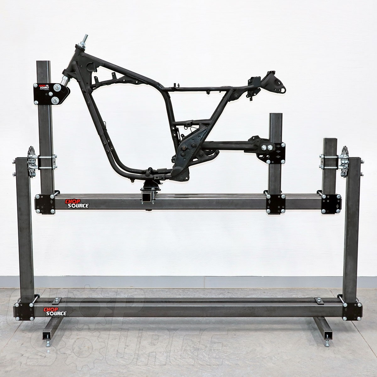 Chop Source Frame Jig Rotisserie Stand