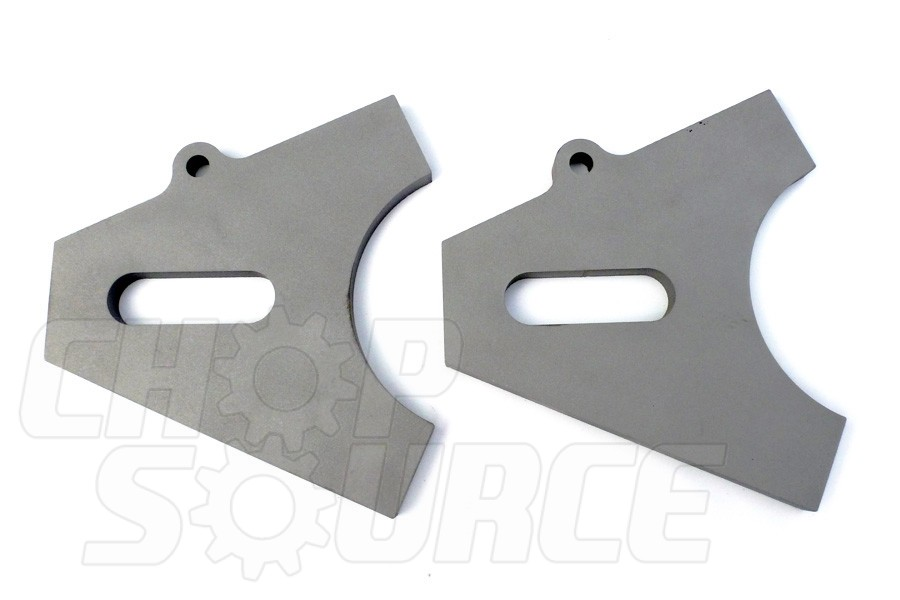 Chopper Axle Plate Set - Style B - 3/4""