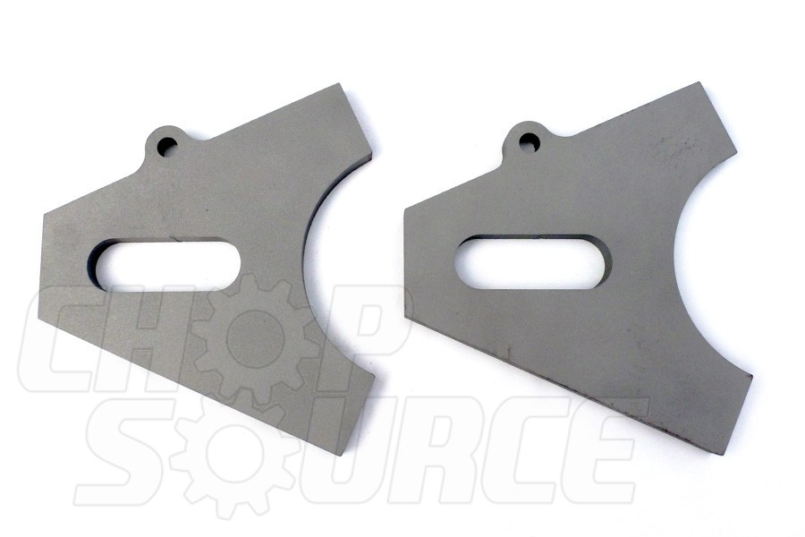 Chopper Axle Plate Set - Style B - 20mm