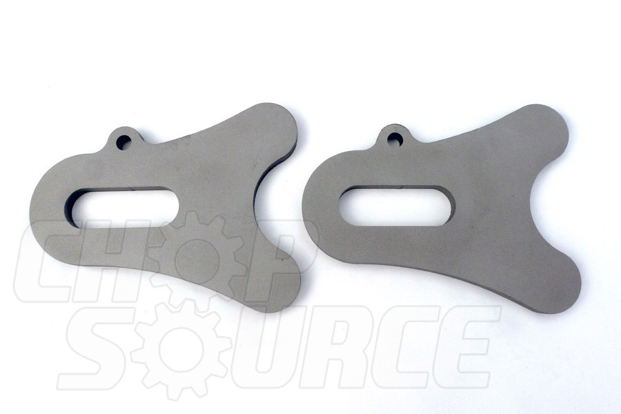 Chopper Axle Plate Set - Style C - 20mm