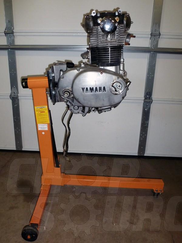 Yamaha XS650 Engine Stand Brackets