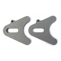 Chopper Axle Plate Set - Style A - 1""