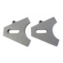 Chopper Axle Plate Set - Style B - 17mm (Axle Plates)