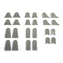 Chop Source Motorcycle Frame Mounting Tab Set