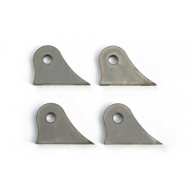 Chop Source Motorcycle Frame Mounting Tabs Style C