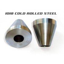 Head Tube Cones (for Bicycle Frame Jig) - Steel - Pair
