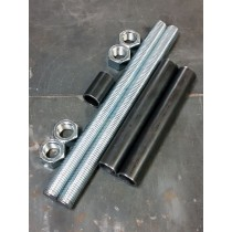 "1"" Threaded Rods and Spacer Material for Axle Plate Fixture"