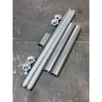 "3/4"" Threaded Rods and Spacer Material for Axle Plate Fixture"