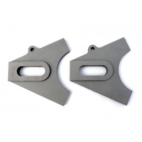 Chopper Axle Plate Set - Style B - 20mm (With Spacer Plates)