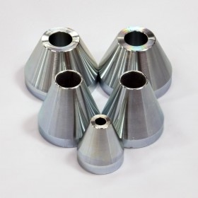 Bicycle Frame Jig/Fixture Centering Cone Set - Steel