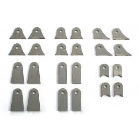 Mounting Tab Set - 4 of each Style - 24 Total