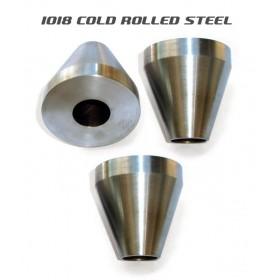 Bicycle Frame Jig Cones - 1018 Mild Steel - Three Cones