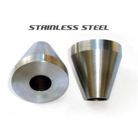 Frame Jig Neck Cones - Stainless Steel - Pair
