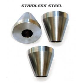 Bicycle Frame Jig Cones - Stainless Steel - Three Cones