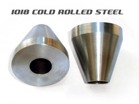 Frame Jig Neck Cones - Steel - Pair